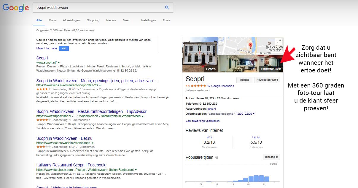 scopri google